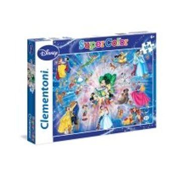 Παζλ Οικογένεια Super Color Disney (104 Κομμάτια)