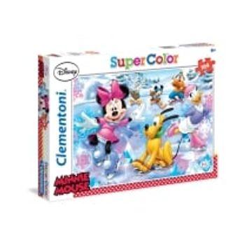 Παζλ Minnie Mouse και Φίλοι στον Πάγο Super Color Disney (104 Κομμάτια)