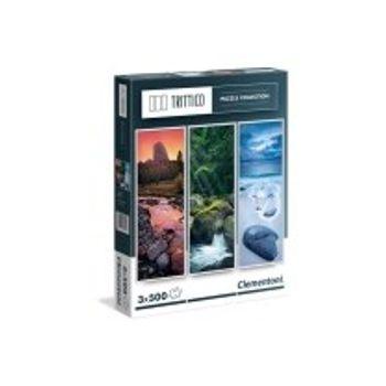 Παζλ Βράχοι στη Φύση Trittico Collection (500 Κομμάτια)