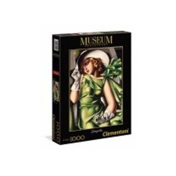 Παζλ Νεαρή Γυναίκα με Γάντια Museum Collection (1000 Κομμάτια)