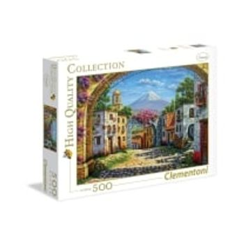 Παζλ Χωριό Ιταλίας The Volcano HQ Collection (500 Κομμάτια)