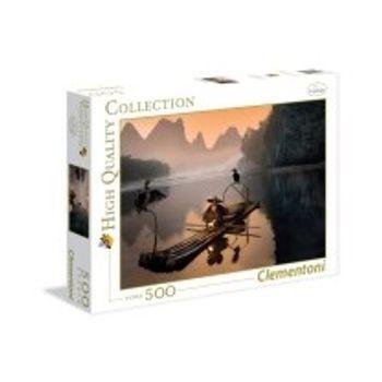 Παζλ Γέρος Ψαράς HQ Collection (500 Κομμάτια)