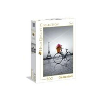 Παζλ Ποδήλατο με Λουλούδια Παρίσι HQ Collection (500 Κομμάτια)