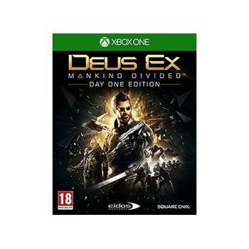 Deus Ex Mankind Divided Day One Edition – Xbox One Game