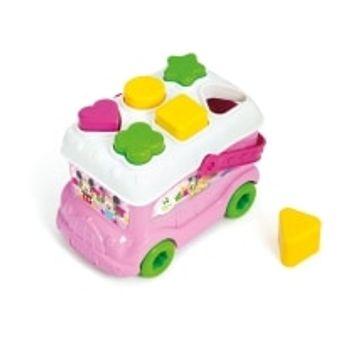 Λεωφορειάκι Minnie με Σχήματα Disney Baby Clementony