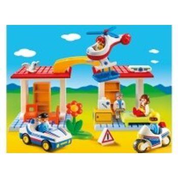 PLAYMOBIL 5046 Αστυνομία και Παιδιατρείο