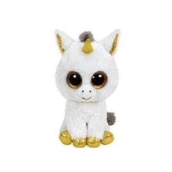 Λούτρινο Μονόκερος Λευκός 40cm TY Beanie Boos