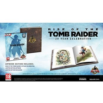 PC Game – Rise of the Tomb Raider 20th Anniversary Celebration Digibook Edition