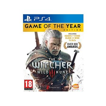 PS4 Game – The Witcher 3: Wild Hunt Game of the Year Edition