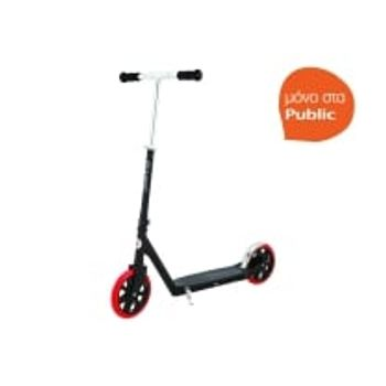 Scooter Carbon Lux Μαύρο Κόκκινο