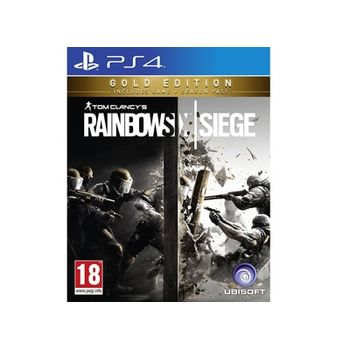 PS4 Game – Tom Clancy's Rainbow Six Siege Gold Edition