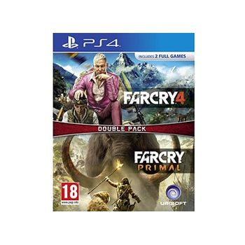 PS4 Game – Far Cry Primal & Far Cry 4 Double Pack
