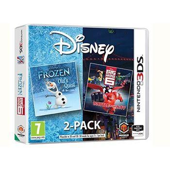 Disney Frozen & Big Hero 6 – 3DS/2DS Game