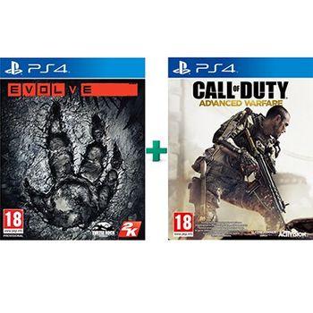 PS4 Game – Call of Duty: Advanced Warfare & Evolve