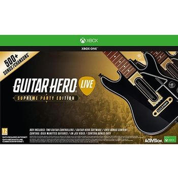 Guitar Hero Live Supreme Party Edition – Xbox One Game