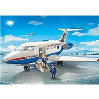 PLAYMOBIL 5395 Επιβατικό Αεροπλάνο και Πλήρωμα