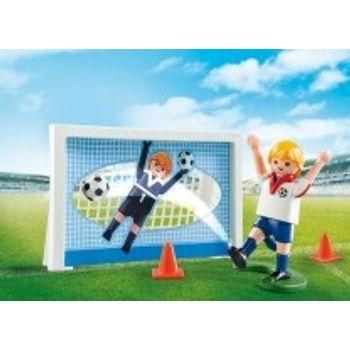 PLAYMOBIL 5654 Βαλιτσάκι Σετ εξάσκησης ποδοσφαίρου