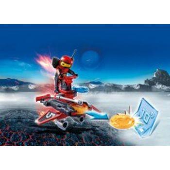 PLAYMOBIL 6835 Firebot Με Εκτοξευτή Δίσκων