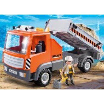 PLAYMOBIL 6861 Ανατρεπόμενο Φορτηγό