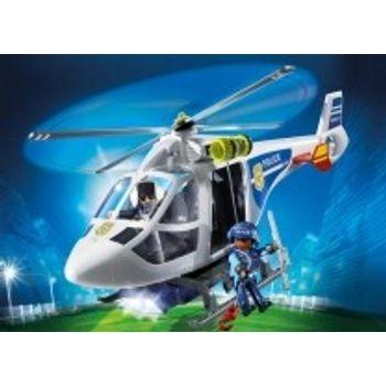 PLAYMOBIL 6921 Ελικόπτερο Αστυνομίας με προβολέα LED