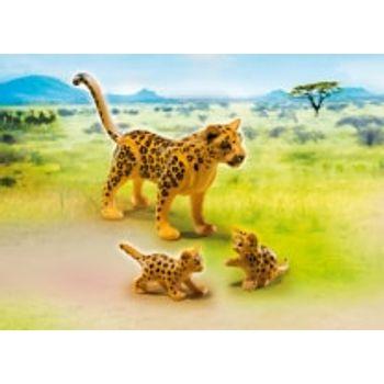 PLAYMOBIL 6940 Λεοπάρδαλη Με Τα Μωρά Της