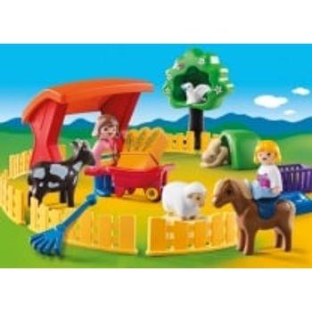 PLAYMOBIL 6963 Ζωάκια φάρμας με περίφραξη