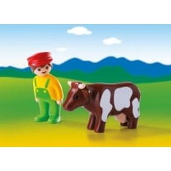 PLAYMOBIL 6972 Αγρότης με αγελάδα