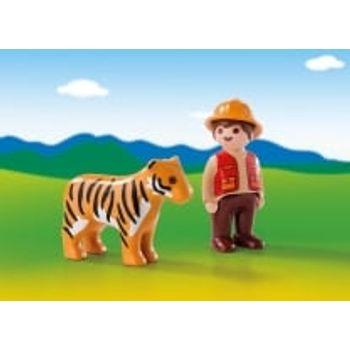 PLAYMOBIL 6976 Θηροφύλακας με τίγρη