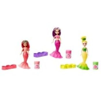 Κούκλα Μίνι Barbie Γοργόνα με Σαπουνόφουσκες (1 Τεμάχιο)