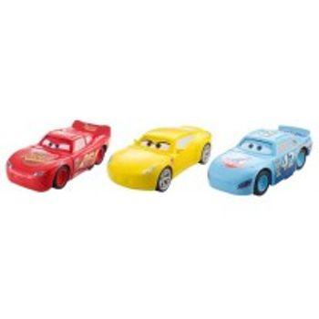 Αυτοκινητάκι Cars Μακουίν Στραπατσαρισμένο Όχημα (1 Τεμάχιο)