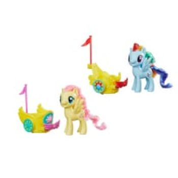 Φιγούρα Μίνι My Little Pony Royal Spin Along Chariots (1 Τεμάχιο)
