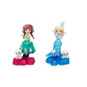 Κούκλα Μίνι Frozen Princess with Basic Features (1 Τεμάχιο)