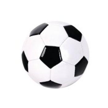 Μπάλα Ποδοσφαίρου Δερμάτινη Black and White