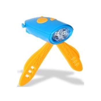 Mini Φωτάκι Κόρνα με Χειριστήριο Μοβ