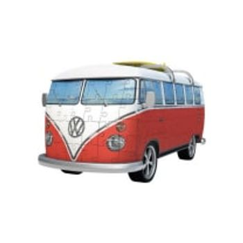 3D Παζλ VW T1 Λεωφορείο 1(62 Κομμάτια)