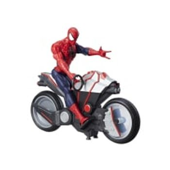 Φιγούρα Spiderman Titan Hero Series Spider Cycle