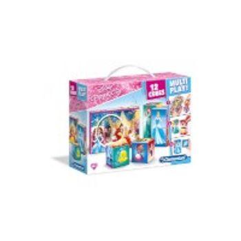 Παζλ Disney Princess Multiplay 3D (12 Κύβοι)