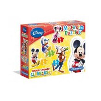 Παζλ Mickey Super Color 4 σε 1 (12/20/24/35 Κομμάτια)