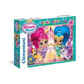 Παζλ Shimmer and Shine Super Color Disney (24 Maxi Κομμάτια)
