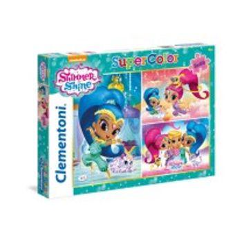Παζλ Shimmer and Shine Super Color Disney (3×48 Kομμάτια)