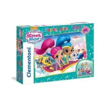 Παζλ Floor Shimmer and Shine Super Color Disney (40 Κομμάτια)