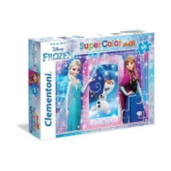 Παζλ Έλσα Άννα και Όλαφ Super Color Disney (60 Maxi Κομμάτια)