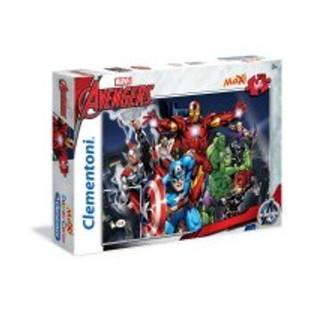Παζλ The Avengers Εκδικητές Ενωθείτε Super Color Disney (60 Maxi Κομμάτια)