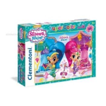 Παζλ Shimmer and Shine Super Color Disney (60 Maxi Κομμάτια)