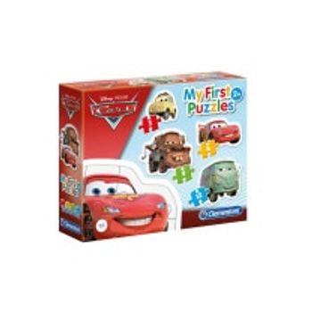 Παζλ Disney Cars Super Color 4 σε 1 (12/20/24/35 Κομμάτια)