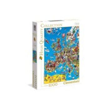Παζλ Χάρτης της Ευρώπης HQ Collection (1000 Κομμάτια)