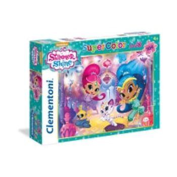 Παζλ Shimmer and Shine Super Color Disney (104 Maxi Κομμάτια)