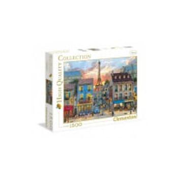 Παζλ Δρόμος στο Παρίσι – High Quality Collection Clementoni – 1500 Κομμάτια