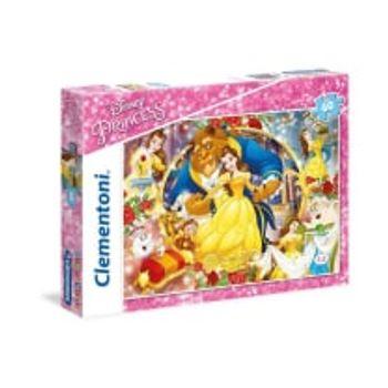 Παζλ Η Πεντάμορφη και το Τέρας Super Color Disney (60 Κομμάτια)