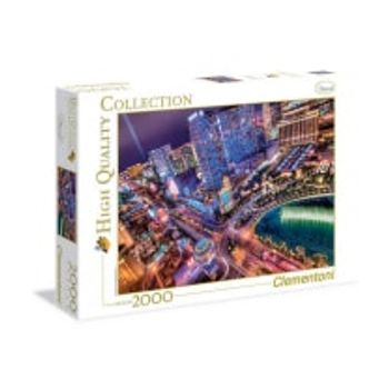Παζλ Λας Βέγκας τη Νύχτα High Quality Collection Clementoni – 2000 Κομμάτια